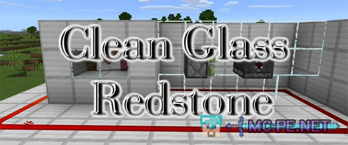 Clean Glass Redstone