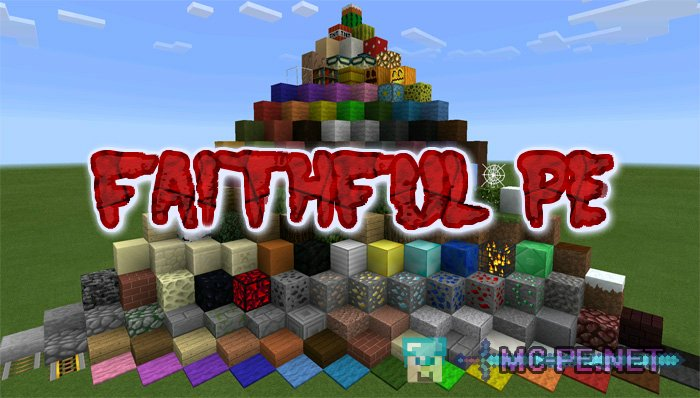 Ресурс пак faithful 32x для minecraft 1. 8.