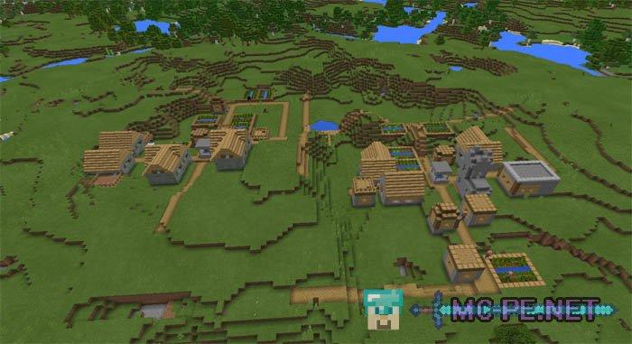 Четыре деревни около спавна