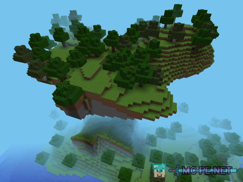 Большой парящий остров
