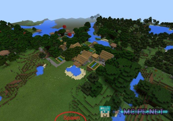 Пять деревень в пяти биомах