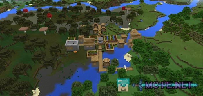 Деревня на болоте