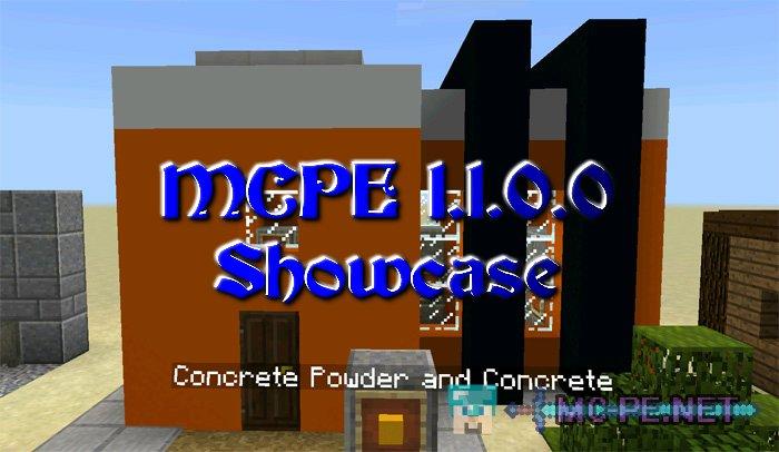 MCPE 1.1.0.0 Showcase