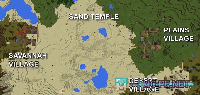 Три деревни и пустынный Храм