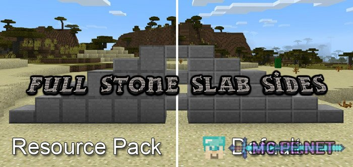 Full Stone Slab Sides