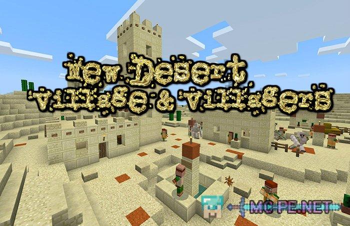 New Desert Village & Villagers (Village & Pillage Update Concept)
