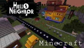 Hello Neighbor In Minecraft