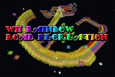 Wii Rainbow Road Recreation