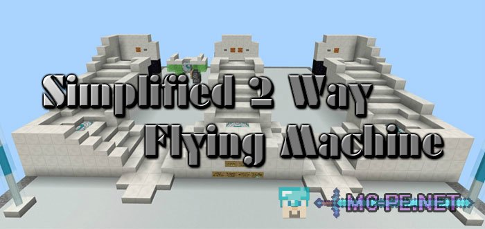 Simplified 2 Way Flying Machine