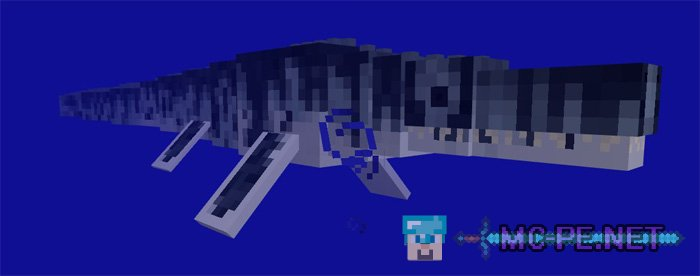 how to build a mosasaurus in minecraft