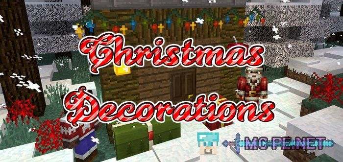 Christmas Minecraft Decorations.Christmas Decorations 16x16 1 0 0 Textures Mcpe