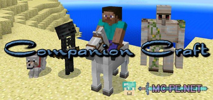 companion craft addons mcpe minecraft pocket edition downloads