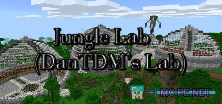 Jungle Lab (DanTDM's Lab) [1.0.0] › Maps › MCPE - Minecraft Pocket on