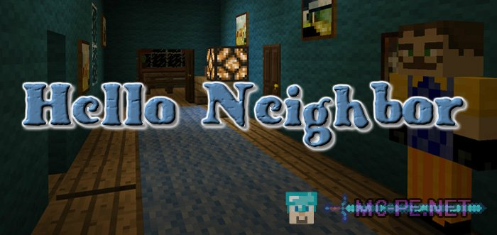 hello neighbor map mcpe