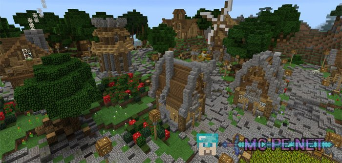 Minecraft Medieval City Download Medieval City [0.10] �...