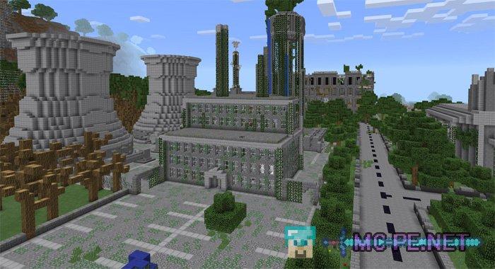 Apocalyptic City [1.1.0] › Maps › MCPE - Minecraft Pocket Edition ...