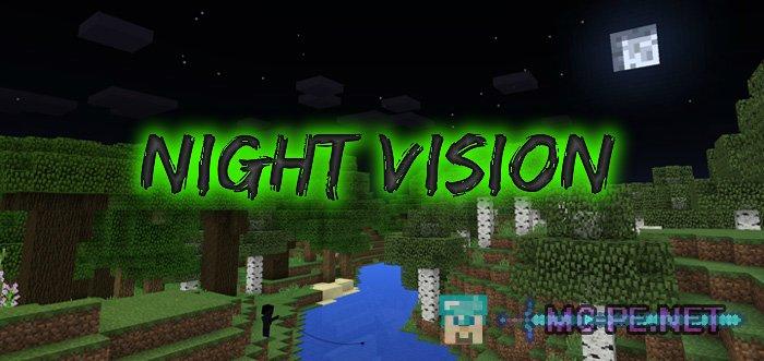 Night Vision [1 8 0] › Shaders › MCPE - Minecraft Pocket