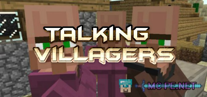 Talking Villagers Mod For Minecraft Pe - Beautiful Foto
