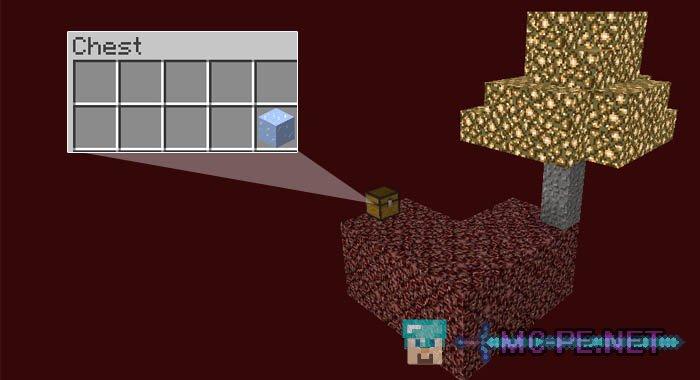 Скачать Карту Skyblock для Minecraft Pe
