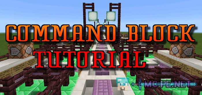 Command Block Tutorial Maps MCPE Minecraft Pocket - Minecraft commands fur maps