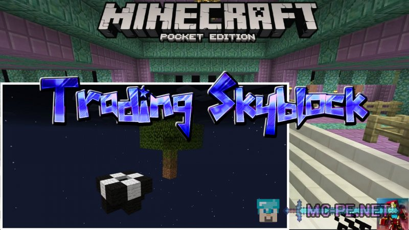 skyblock mcpe download