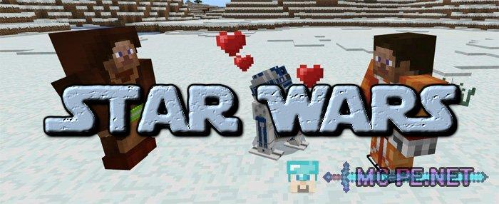 star wars minecraft pe download