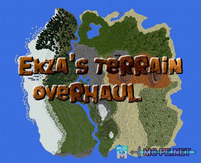 Ekzas terrain overhaul 105 maps mcpe minecraft pocket ekzas terrain overhaul gumiabroncs Images