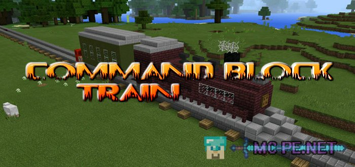 Command Block Train Maps MCPE Minecraft Pocket Edition - Minecraft commands fur maps