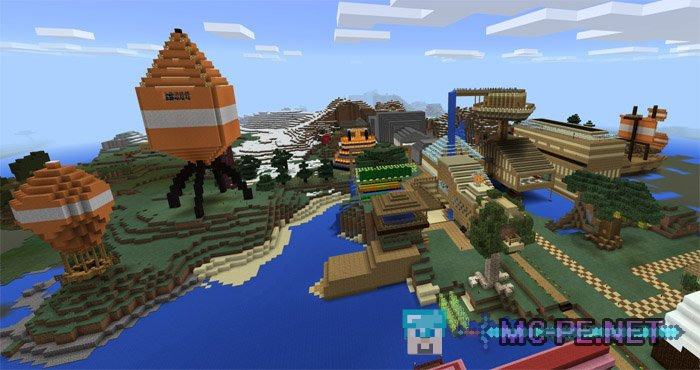 Stampy s Lovely World PE 1 1 0 Maps MCPE Minecraft Pocket Edition Dow