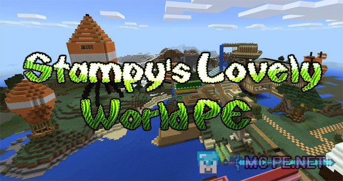 Stampys lovely world pe 110 maps mcpe minecraft pocket stampys lovely world pe gumiabroncs