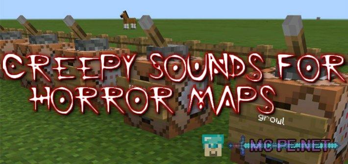 Creepy Sounds for Horror Maps [1 1 0] › Maps › MCPE