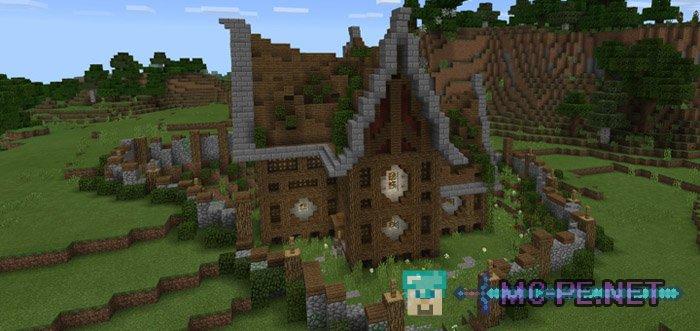 A Good Survival House 1 1 0 Maps Mcpe Minecraft