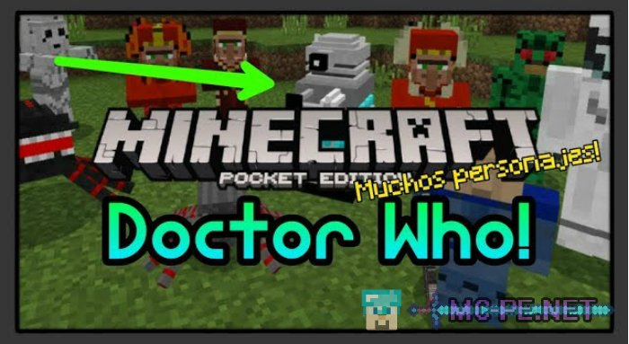Doctor Strange magic addon for Minecraft PE 1.11.4