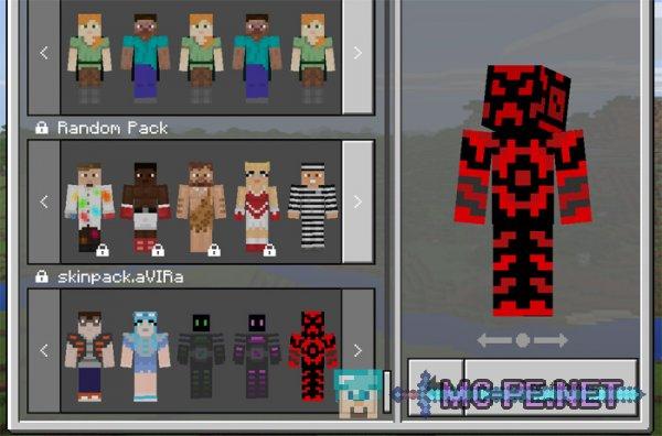 minecraft pocket edition skin download