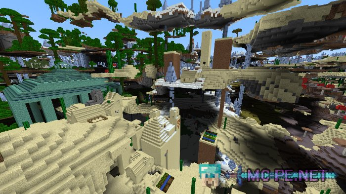 Ultra Amplified Survival World [1 2 8] › Maps › MCPE - Minecraft