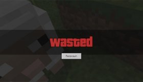 GTA Wasted Screen