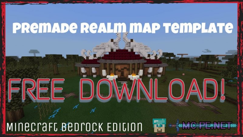 Premade Realm [1 7 0] › Maps › MCPE - Minecraft Pocket Edition Downloads