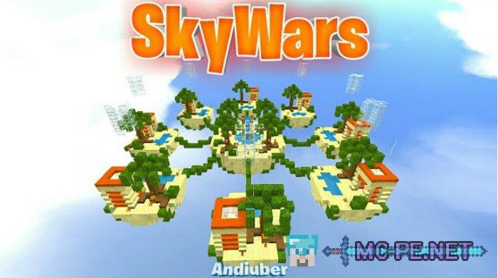 SkyWars (8 Maps) [1.8.0] › Maps › MCPE - Minecraft Pocket Edition ...