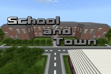 School and Town