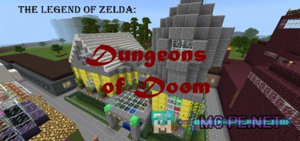 The Legend of Zelda: Dungeons of Doom [1 7 0] › Maps › MCPE